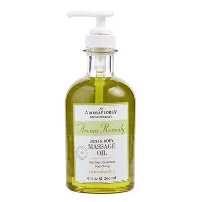 Aromafloria Aroma Remedy Bath And Body Massage Oil Tea Tree, Geranium, May -