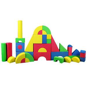 XL EVA Softbausteine 37tlg. Schaumstoff Spielzeug Bausteine bauen Kinderzimmer