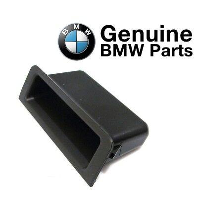 For BMW E39 5-Series 525i 530i 540i M5 Center Console Insert Black Genuine