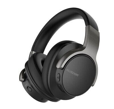 AUSDOM ANC8 ~ Active Noise Cancelling Wireless Bluetooth Over-EarHeadphones