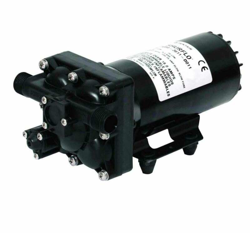 Shurflo 5.3 GPM High Flow Demand 12VDC Pump | 5059-1311-D011