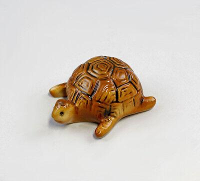 Porzellan Figur kleine Schildkröte Wagner & Apel 8x3,5cm 9942203