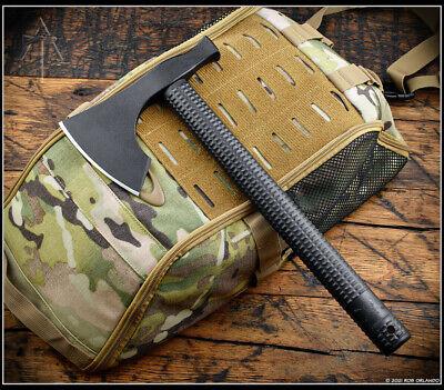 American Tomahawk Company Model 2 Black Nylon Handle 1060 Steel