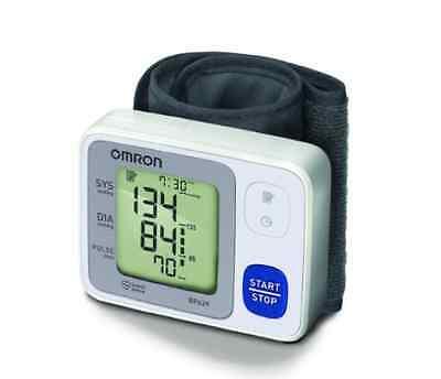 New Omron Digital Wrist Cuff Arm Blood Pressure Monitor Meter Automatic Health