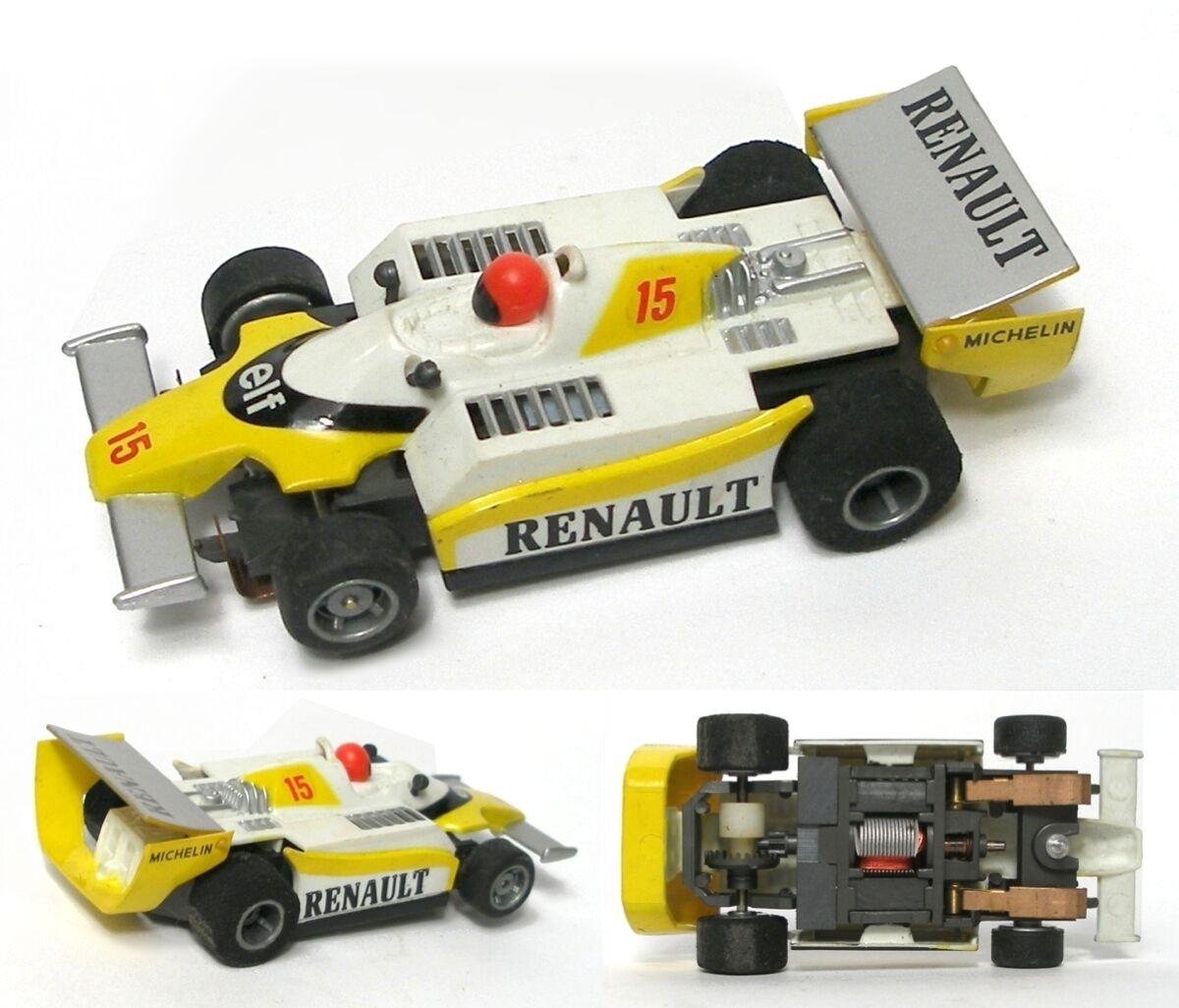 1981-82 Tyco 440 Magnum F1 Indy 15 Renault Elf Ho Slot Car Unused Sweet 8908