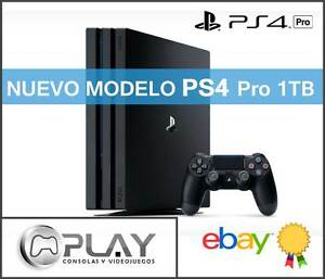 PS4-Pro-1TB-Sony-Playstation-4-PRO-NUEVO-MODELO-2017-D-Chasis-Con-HDR-y-4K