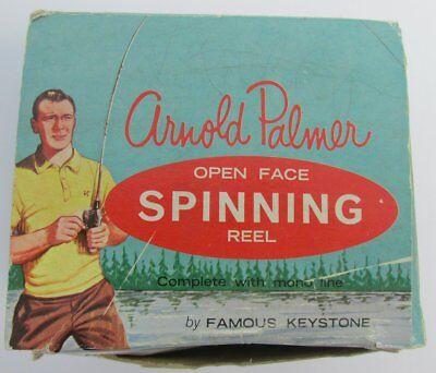 Vintage Arnold Palmer Spinning Reel w/Box 1960's Super Rare 136341