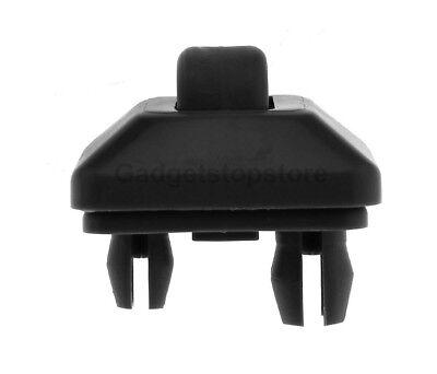 Sun Visor Clip For Audi A1 A3 A4 A5 S3 S4 S5 Q3 Q5 TT 8E0857562A 8E0857561 Black
