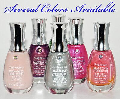 Sally Hansen Diamond Strength Nail Polish  45 Oz Many Colors