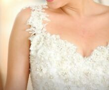 Size 6-8 wedding dress gown by Norma Bridal Couture Cabramatta West Fairfield Area Preview