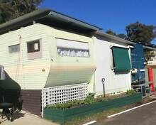 Caravan & closed in annex in quiet caravan park St Georges Basin Shoalhaven Area Preview