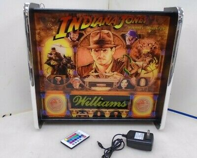 Williams Indiana Jones Pinball Head LED Display light box