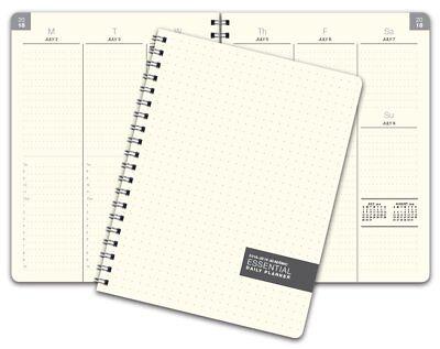 8.5x11 Essential 2018-2019 Academic Year Planner