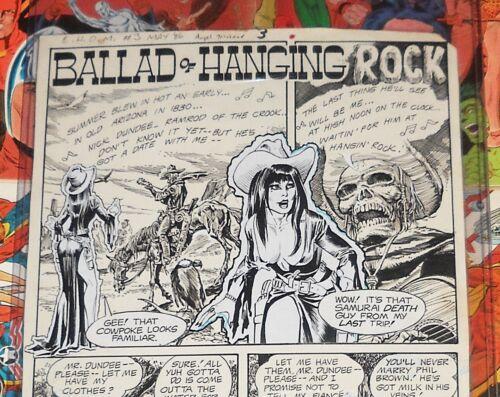 Original Comic Art 1986 DC House Of Mystery Dick Giordano Stan Woch