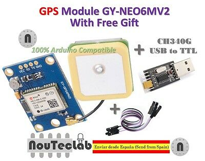 Gps Module Flight Control Eeprom With Usb2ttl Compatible With Gy-neo6mv2 Neo-6m
