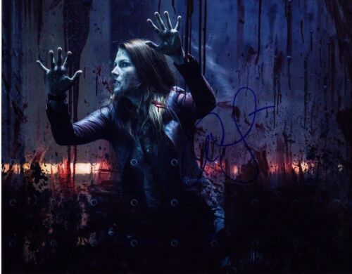ALI LARTER SIGNED RESIDENT EVIL THE FINAL CHAPTER 11X14 PHOTO! BABE AUTOGRAPH
