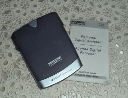 PERSONAL DIGITAL ASSISTANT RF 8120 ROLODEX ELECTRONICS FRANKLIN (
