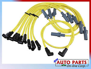 SPARK PLUG WIRES DAKOTA DURANGO B1500-3500 D / W150-350 V8 5.2L 5.9L MADE IN USA