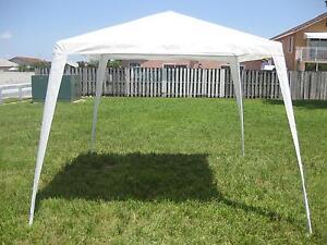 10 X 10 Canopy Gazebo Tent Colors White Blue Green