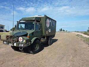 1985 Mercedes Unimog 1300L Port Hughes Copper Coast Preview