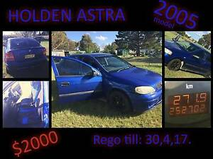 2005 Holden Astra 1.8 MANUAL For Sale Deepwater Glen Innes Area Preview