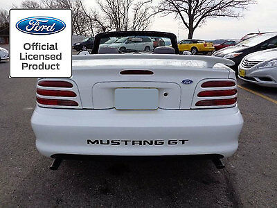94-98 FORD MUSTANG LETTERS REAR BUMPER INSERTS VINYL DECALS STICKERS GT & V6 (Ford Mustang Bumper Letter Inserts)