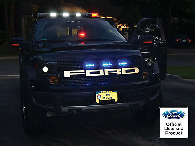 FORD RAPTOR F-150 GRILL REFLECTIVE LETTER INSERTS STICKERS DECALS -FORD LICENSED