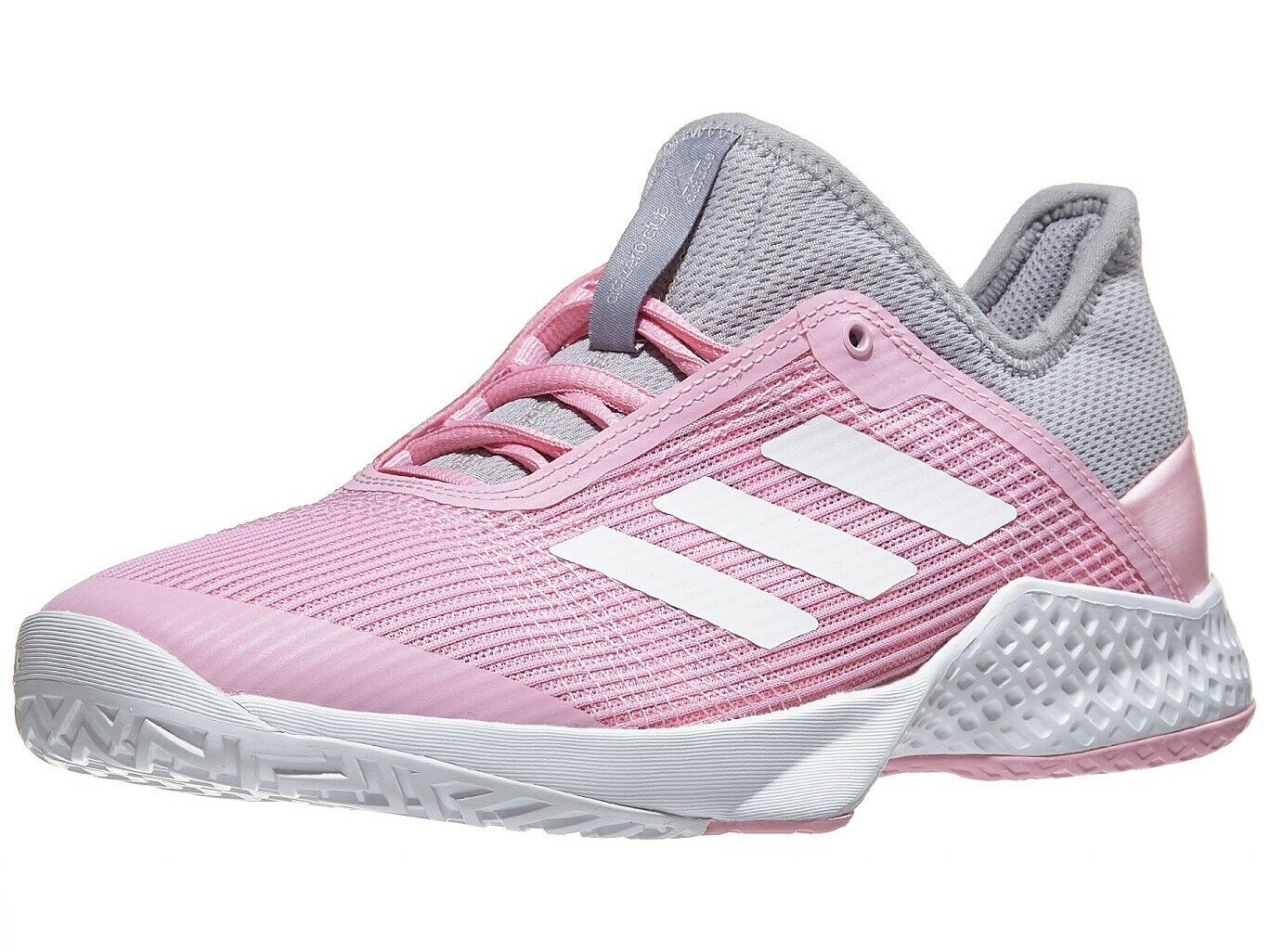 WOMEN'S ADIDAS ADIZERO CLUB TENNIS SHOES (LGRANITE/WHT/TRUPINK) CG6363