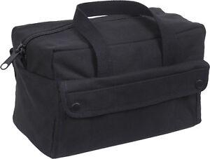 Black Heavyweight Military Mechanics Standard Tool Bag