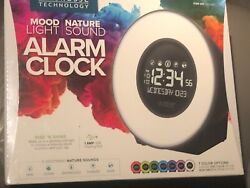 La Crosse Technology Mood Light Nature Sound ALARM CLOCK • New Factory Sealed!