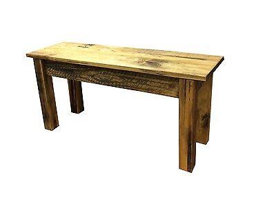 Barnwood Bench -