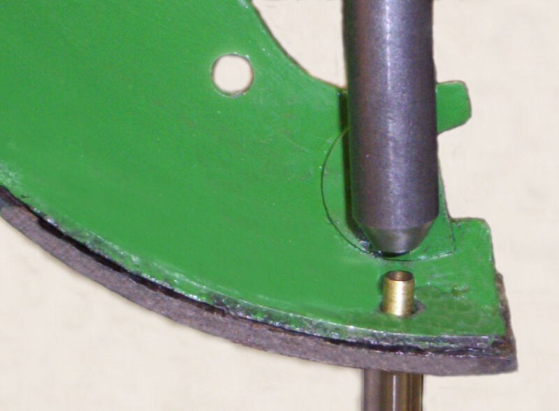 John Deere 2 Two Cylinder  and New Generation Wheel Brake Rivet Setter Tool
