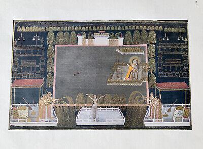 Kishangarh Painting Indian Print