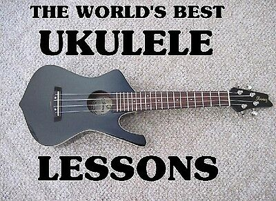 The World's Best Ukulele Lessons on DVD. For Guitar Players. Learn VERY (The Best Ukulele Strings)