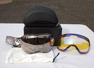 2015 NIB MENS DRAGON APX SNOWBOARD GOGGLES $180 focus ionized yellow blue lens