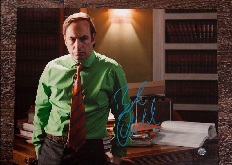 GFA Breaking Bad Better Call Saul * BOB ODENKIRK * Signed 11x14 Photo B2 COA