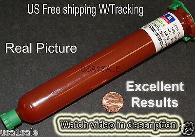 UV Glue LOCA Optical Clear Adhesive Cell phone Glass Lens LCD Repair 50g TP-2500