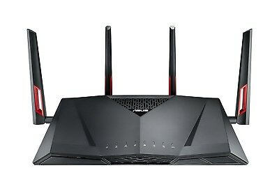 ASUS RT-AC88U Wireless-AC3100 Dual Band Gigabit Router, AiProtection -BRAND NEW-