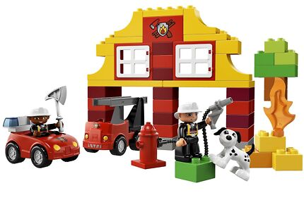 LEGO Duplo Fire Station 10593 and Fire Truck 10592 + extras   Toys ...
