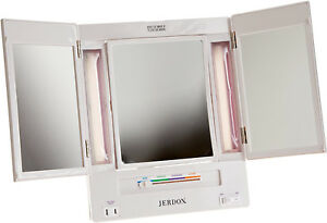 Jerdon Lighted Makeup Mirror Ebay