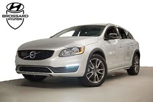 2017 Volvo V60 Cross Country T5 AWD GPS CUIR TOIT OUVRANT PUSH-S