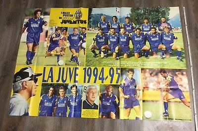 La Juve  Juventus Turin 1994/95 & Roberto Baggio Maxi Poster - 150 x 106cm