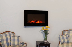 Arturo Wall Mounted Electric Fireplace (BRAND NEW)