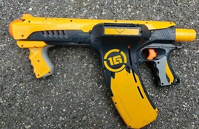 Nerf 1G Dart Tag Quick 16 Blaster Dart Gun TESTED GREAT CONDITION PUMP ACTION