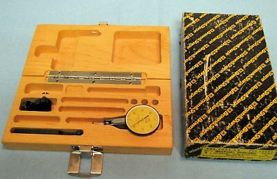 Brown Sharpe Bestest Indicator .01mm 599-7031-13 Case Included Used Free Ship