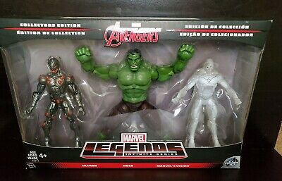 Marvel Legends INFINITE SERIES AVENGERS HULK ULTRON VISION 3 pack Action Figures