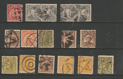 Philippines Lot of Fancy Cancels