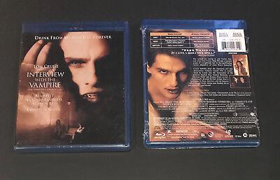 Interview With The Vampire Blu Ray  2008    New   Sealed Brad Pitt Tom Cruise