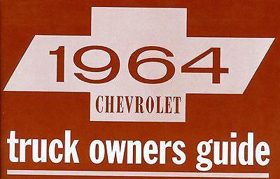 1964 Chevrolet Truck-light, Medium & Heavy Duty Owner's Manual
