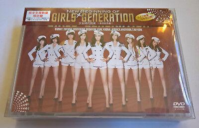 Snsd The New Beginning Of Girls Generation Japan Press Limited Edi  Dvd   Goods